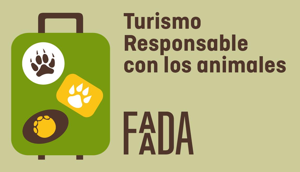 turismo responsable con los animales logo faada